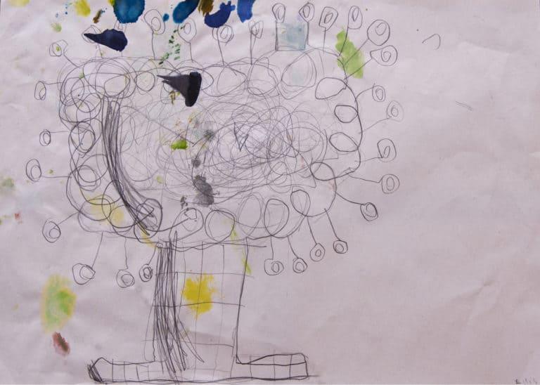 Drawing by Ellis, St Saviours