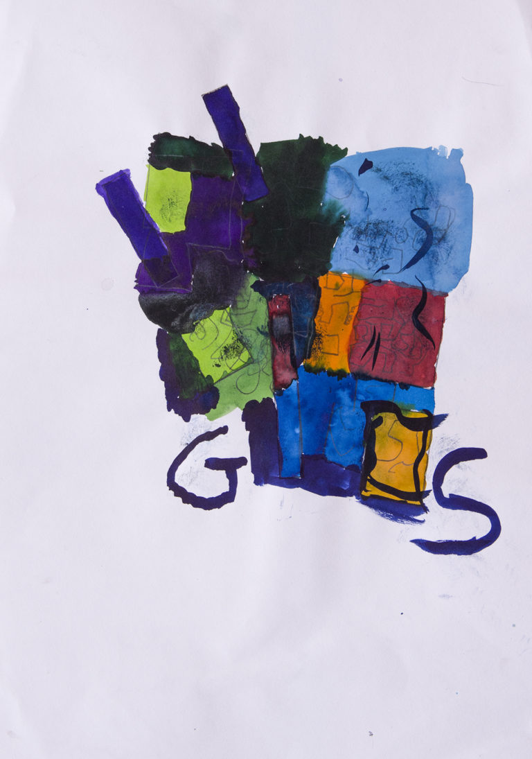 Painting by Grace, St Saviours