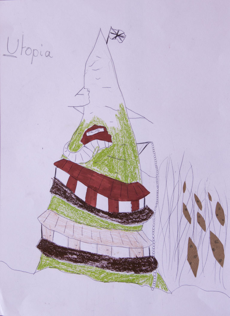 Drawing by Helena, St Saviours