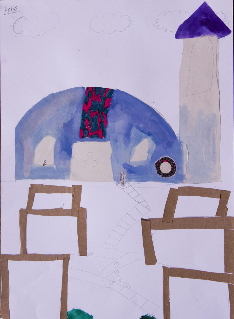 Painting by Katie, St Saviours