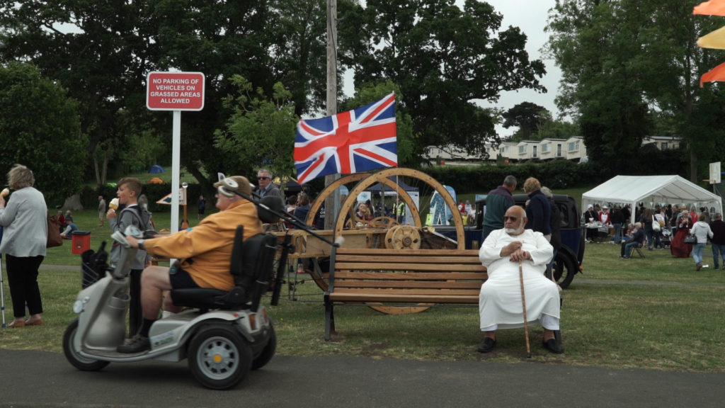 People at the East Cowes Bicentenary Celebrations