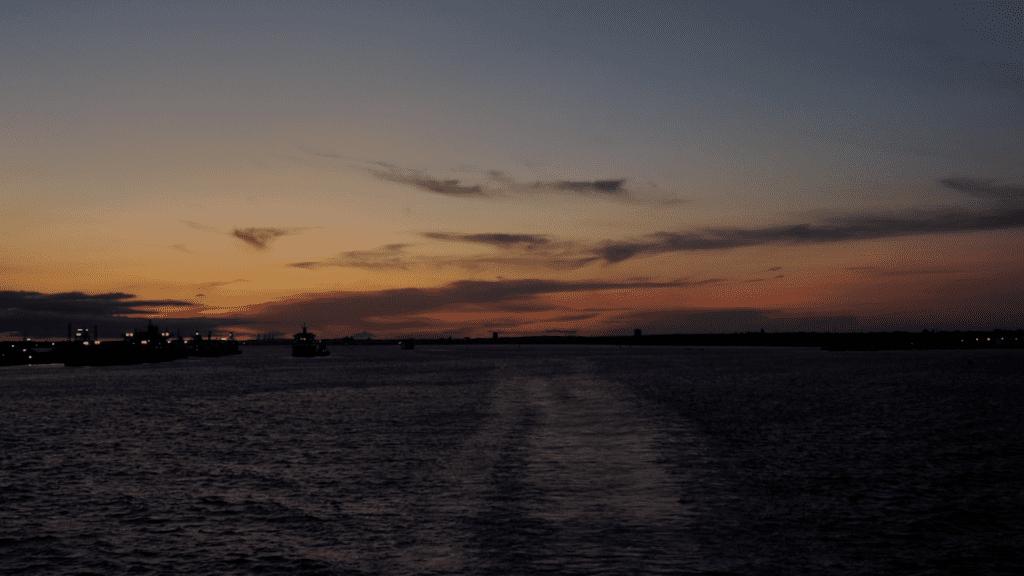 Sunrise at Southampton