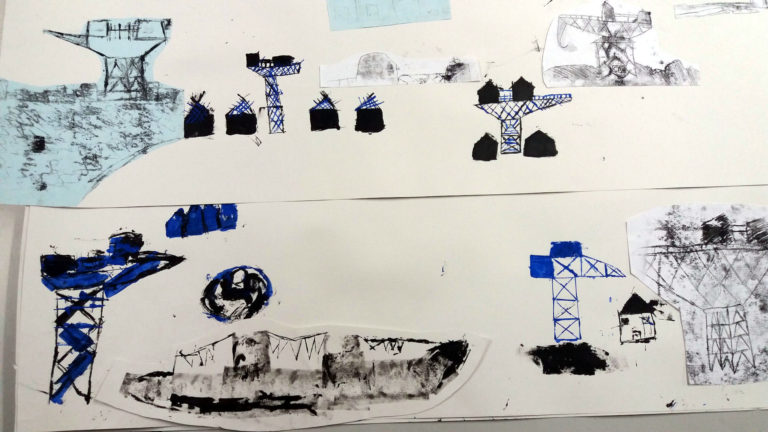 Work by Y6 pupils at Queensgate Primary Foundation